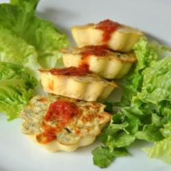 Pudim de legumes rico em proteínas