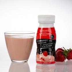 Garrafa smoothie proteica UHT 200ml de morango - Smoothie UHT 200 ml fraise