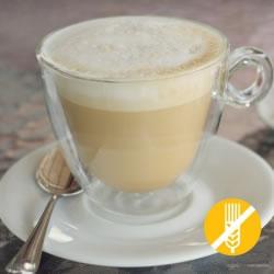 SEM GLÚTEN Bebida rica em proteínas Café Latté