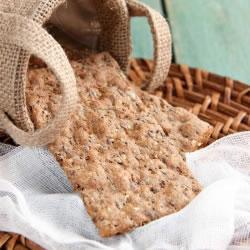 Biscoitos com sementes completas DLUO 01/03/2021