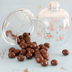 Bolas de chocolate proteinadas crocantes - Boules chocolat croustillantes