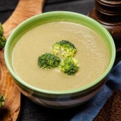 Sopa rica em proteínas com Brócolos SG