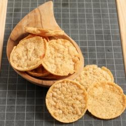 Chips proteinadas assopradas sabor fiambre fumado