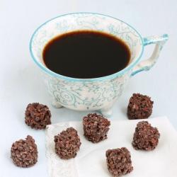 Bocados proteinados Cereais e Chocolate preto - Bouchées Céréales Chocolat