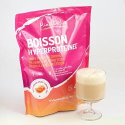Bebida rica em proteínas Caramelo Maxi saqueta de 450g