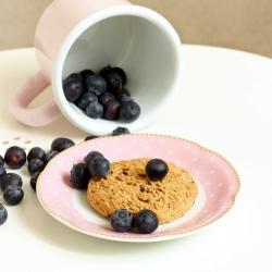 Biscoito proteinado Mirtilo e Farelo de aveia - Biscuit Myrtilles Avoine