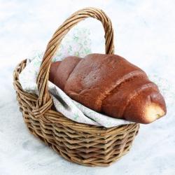 Croissant rico em proteínas saqueta individual de 50g