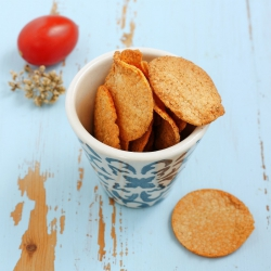 Chips proteinadas sabor tomate orégano - Chips tomate origan