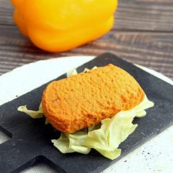 Bolo salgado hiperproteico sabor pimenta e chouriço 40g - Cake salé poivron chorizo