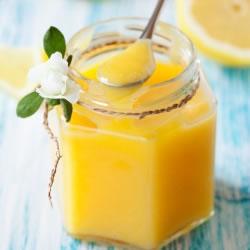 Sobremesa rica em proteínas aroma Tarte de limão